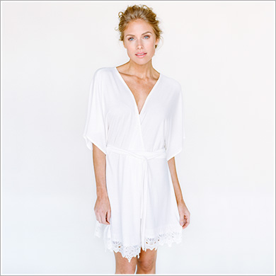 Sweetheart Robe. Lambkin.