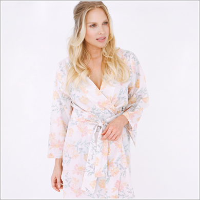 Kimono Style Robe. Ankle Length. Willa Betwixt the Morning Light