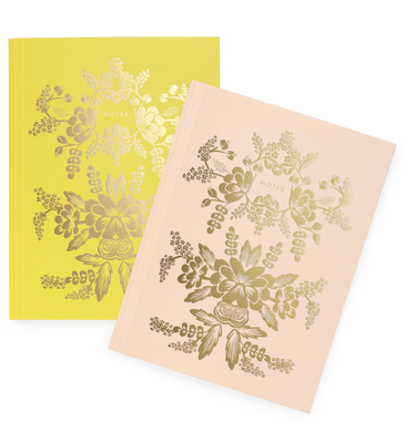 Rorschach Notebook Set. Set of 2 Notebooks