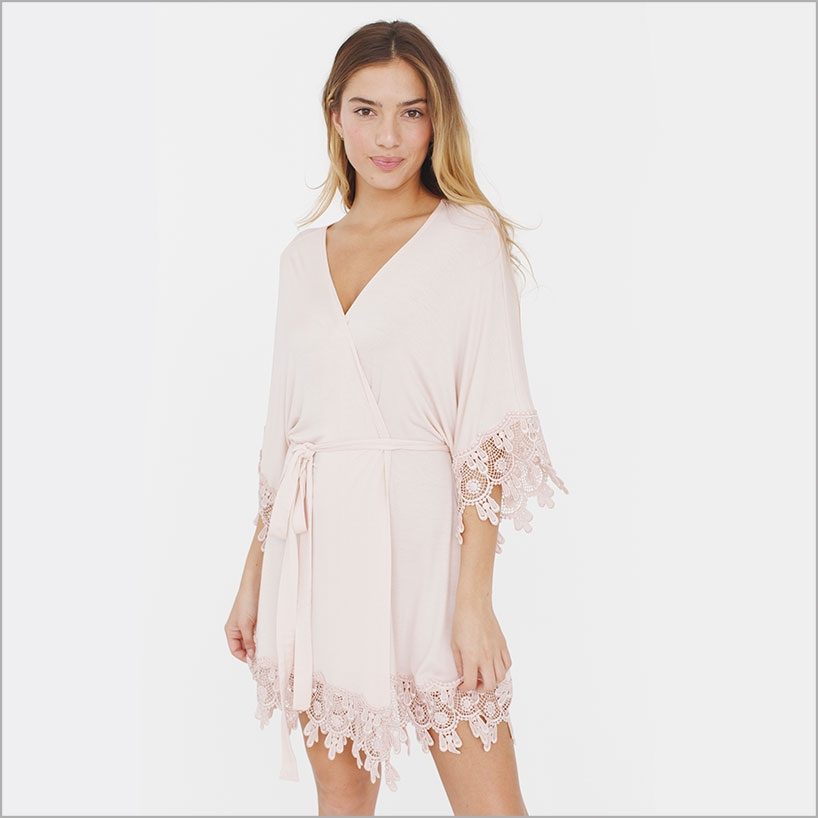 Hibiscus Sweetheart Robe. Cutie Pie Drop.