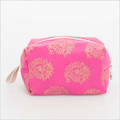Cosmetic Bag. Petite Size. Assorted Prints.