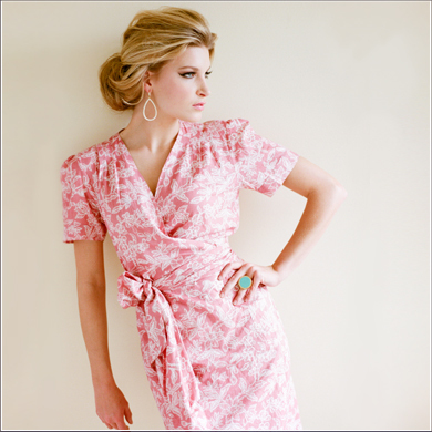 Wrap Dress Robe